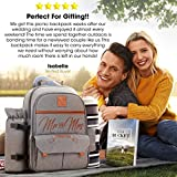 DELUXY Mr and Mrs Insulated Picnic Backpack For