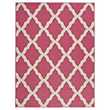 Best Decors For Kitchen Kids - Ottomanson Glamour Collection Hot Contemporary Moroccan Trellis Design Review