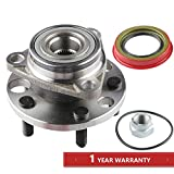 MOSTPLUS Wheel Bearing Hub Front Wheel Hub and Bearing Assembly 513017k for Chevy Pontiac 5 Lug Driver or Passenger Side