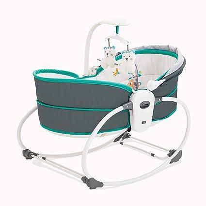 Qi Peng Bebé eléctrico Cuna para bebés Vibración Cuna Cama ...