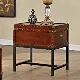 Milbank Old English Style Cherry Finish End Table