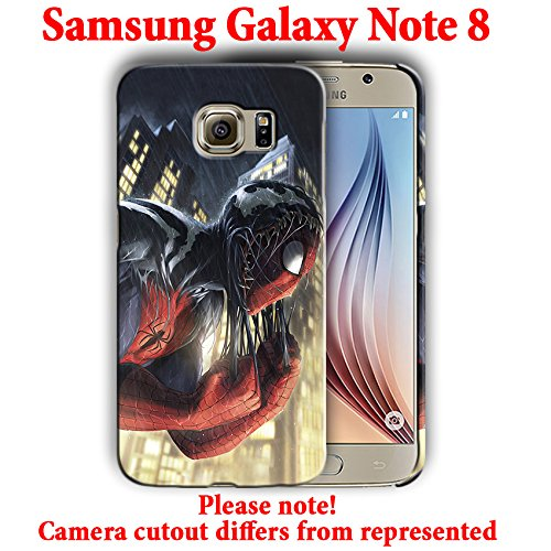 Amazon.com: Superheroes for Samsung Galaxy Note 8 Hard Case ...