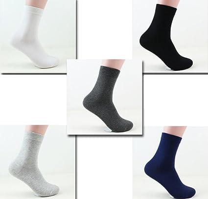Cosanter 3 Pares de Calcetines Zapatillas Cotton Classic Calcetines Algodón Casual Calcetines Hombre Algodón En el