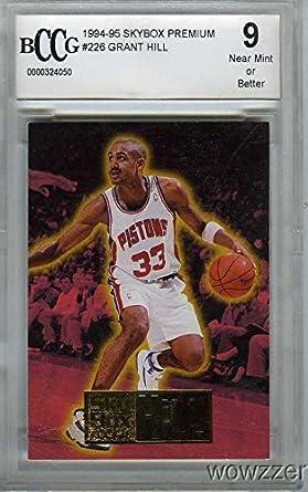 199495 Skybox Premium 226 Grant Hill Rookie Beckett 9