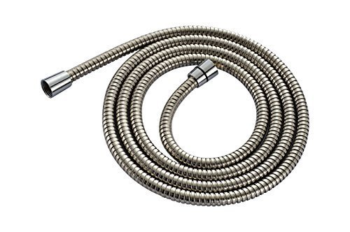 Oulantron Extra Long Stainless Steel Handheld Shower Hose (8 Ft) (96 Inches) (2.45 Meters) by Quality 4 less