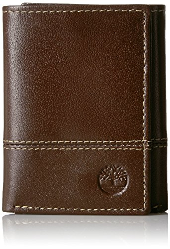 Cloudy Blocking Brown Trifold RFID Men's Buff Timberland Exclusive Security Wallet Leather qARnE