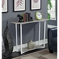 Convenience Concepts 111299GYWF Graystone Console Table Stone, Gray