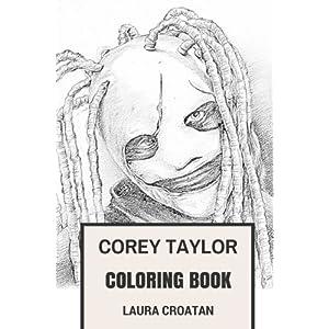 Amazon.com: Slipknot Coloring Book: American Nu and Heavy Metal ...