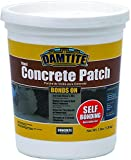 Damtite 04003 Gray Bonds-On Vinyl Concrete Patch, 3 lb. Pail