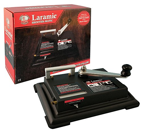 Laramie Shoot O Matic Heavy Duty Metal Cigarette Machine (Does Both King Size and 100mm Tubes) ()