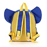 QiRong Toddler Backpack Kids Insulated with Safety