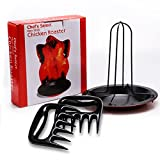 Chicken Roaster Pulled Pork Shredder Claws - MEAT SHREDDING FORKS - BBQ Grilling Accessories from Grill BEAST
