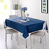 kitchen 67 brunch BERTERI Decorative Tablecloth,Dust-proof Polyester Tablecloth, Great for Table, Parties, Holiday Dinner, Outdoor Activities