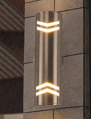 Cerdeco Modern Porch Light Outdoor Wall Sconce