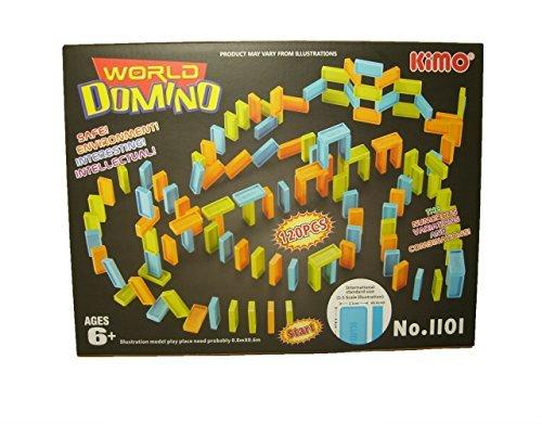 Domino World Kimo  Dominoes Playset For Kids (120Pcs)