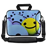 Smile Face 9.7″ 10″ 10.2″ inch Laptop Netbook Tablet Shoulder Case Carrying Sleeve bag For Apple iPad/Asus EeePC/Acer Aspire one/Dell inspiron mini/Samsung N145/Lenovo S205 S10/HP Touchpad Mini 210, Best Gadgets