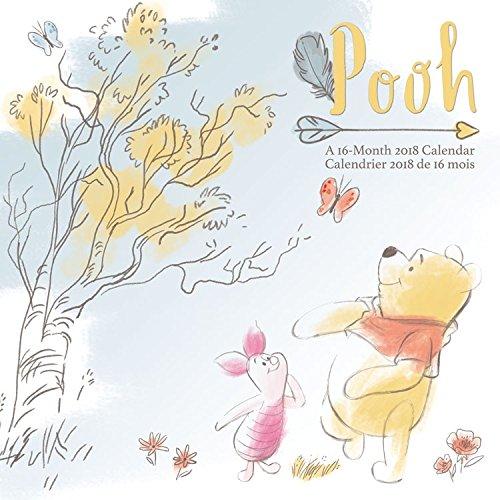 2018 Winnie the Pooh Wall Calendar