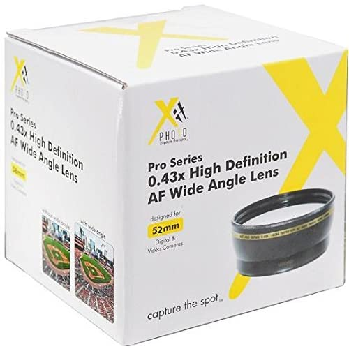 New 2.0X High Definition Telephoto Conversion Lens for Canon VIXIA HF R700 43mm