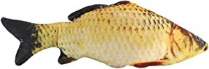Mumusuki Creative 3D Carp Fish Shape Simulation Cushion Throw Pillow Children Novelty Gift Toy Sofa Home Decor(40cm)