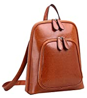 Heshe Women's Vintage Casual Daypack Backpack