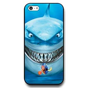 Customized Disney Finding Nemo Black Hard Plastic iPhone 5c Case