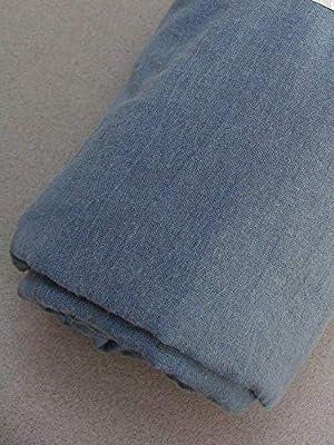 Organic Cotton Plus Tela de Gasa de algodón orgánico teñida de Forma Natural, Varios tamaños y Colores: Amazon.es: Hogar