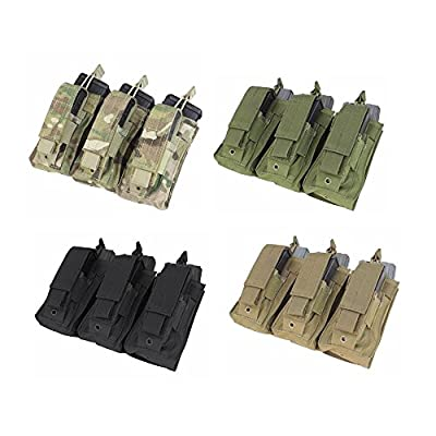 Condor MA55 Triple Kangaroo Mag Pouch, Olive Drab