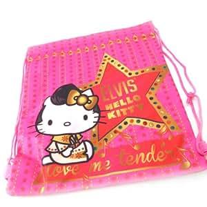 Bolsa de deporte 'Hello Kitty' rosa fuschia.