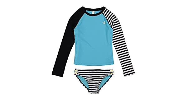 Amazon.com: Skechers - Traje de baño para niña con manga ...
