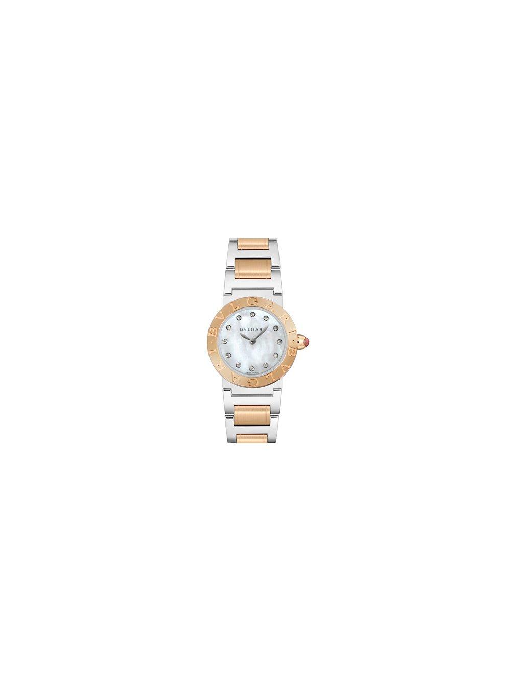 198e093c3f5d2 Amazon.com: Bvlgari Bvlgari Mother of Pearl Dial Ladies Watch 102477 ...