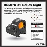HOLOSUN HS507C-X2 Classic Multi Reticle Red Dot