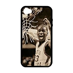 iPhone 5 5s Case, [Michael Jordan] iPhone 5 5s Case Custom Durable Case Cover for iPhone 5 5s TPU case (Laser Technology)