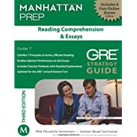Reading Comprehension & Essays GRE Strategy Guide, 3rd Edition
