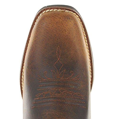 Fashion Boots Swl7311 Damen Braun FB Cowboystiefel 0Bdq8qw