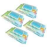 Best Pet Supplies WW-AV-400 Aloe Vera Deodorizing Pet Grooming Wipes