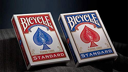 - USPCC Bicycle Standard Playing Cards in Mixed Case Red/Blue
