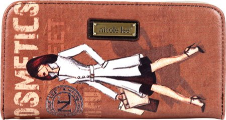 nicole-lee-nicole-lee-vinatge-print-wallet-card-case-cosmetics-one-size
