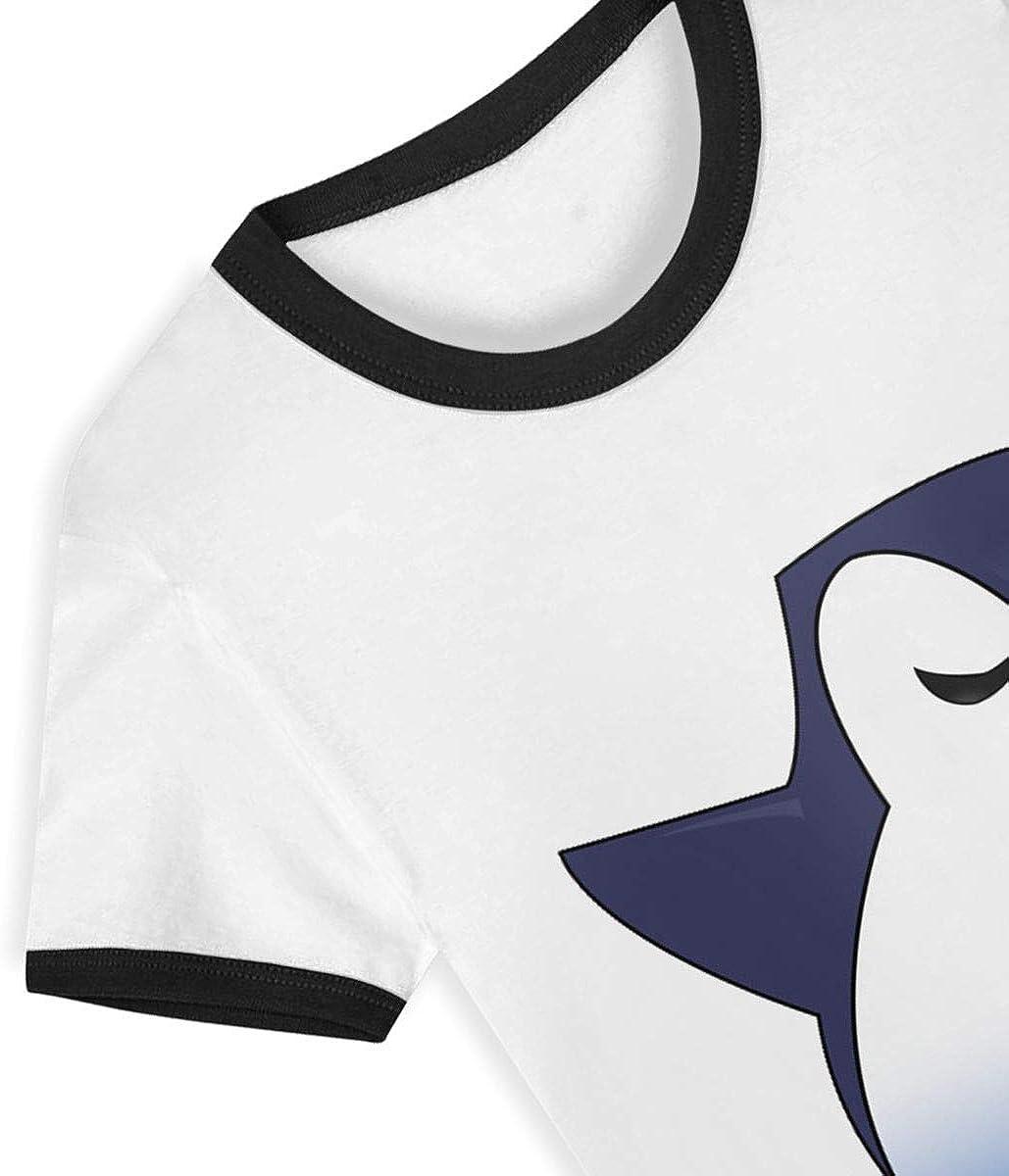 AMMAaaa Dabbing Penguin Kids T-Shirt Childrens Short Sleeve Shirts Printed Boys Girls