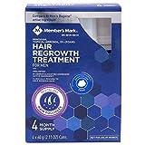 Hair Regrowth Treatment For Men 4 Month Supply Foam Minoxidil 5% Foam
