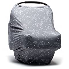 THE MULTI-PURPOSE MOODY PARK COCOON BABY COVER HAS ENDLESS USES Nursing cover for discreet breastfeeding providing privacy from snoopy strangers and to protect your baby from the wind, cold and germs. Stroller cover, or stretch it over your s...