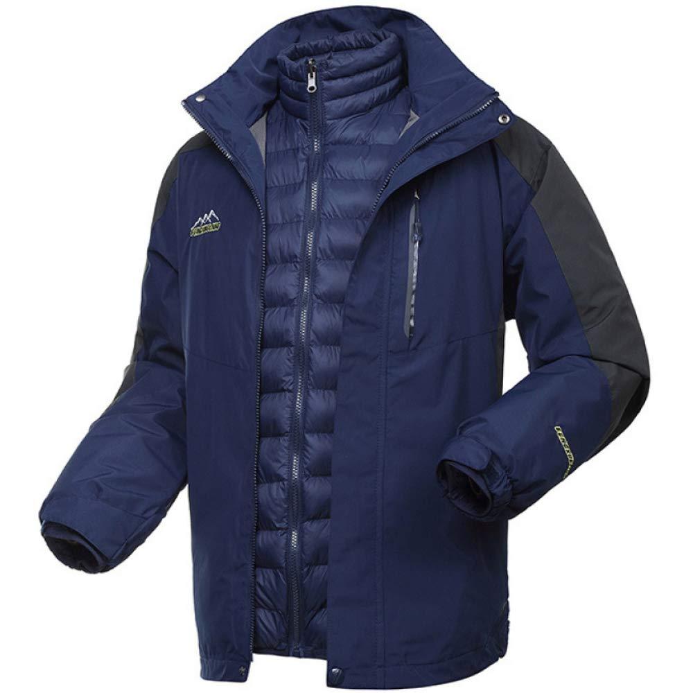 Amazon.com: ZYYMB Water Resistant Coat for Men Jacket Parka ...
