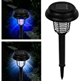 Solar LED And UV Pathway Lighting With Bug Zapper