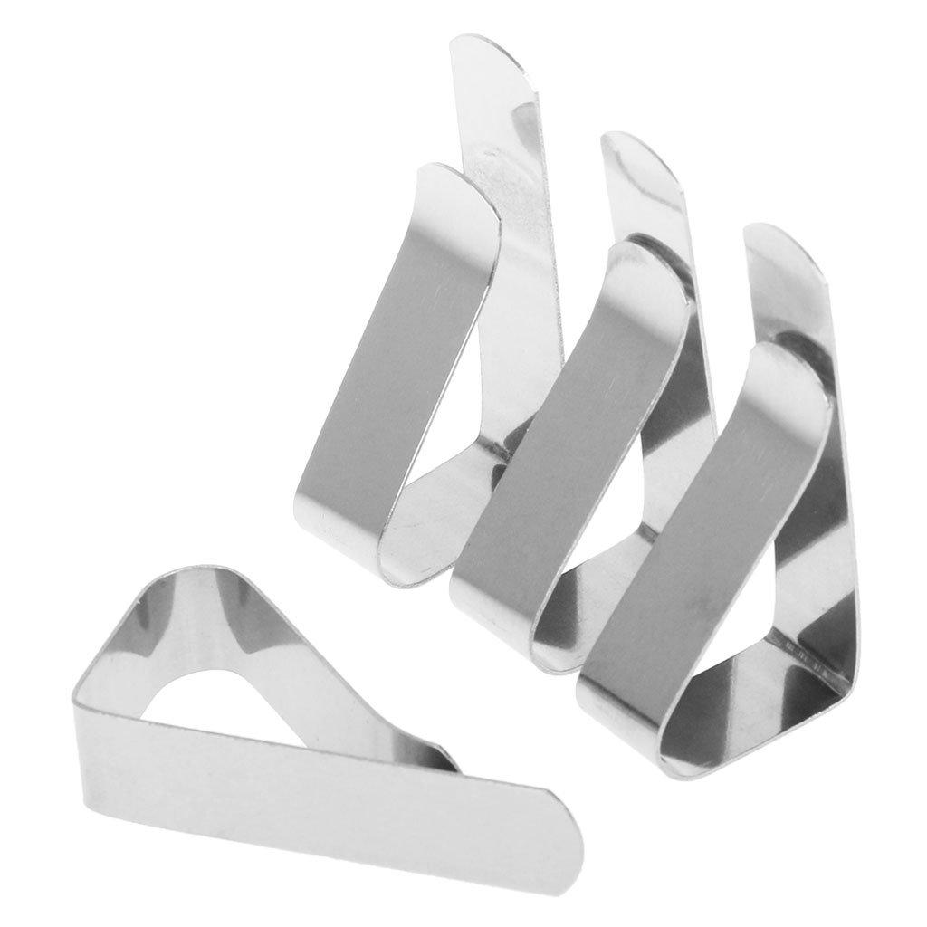 Manyo Tischdeckenclips 4 Stück Tischzubehör