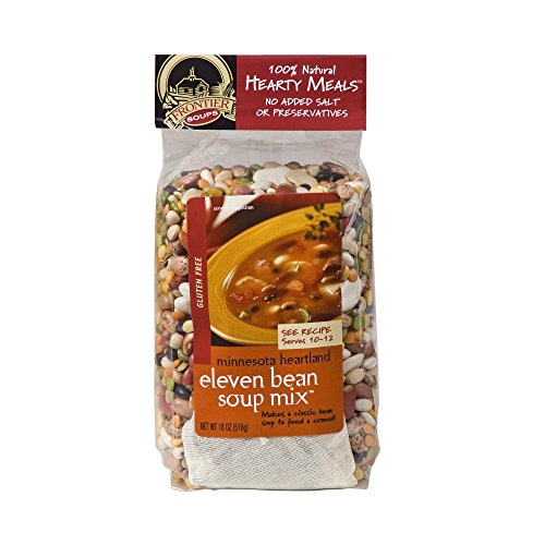 Frontier Beans - Frontier Soups Hearty Meals Minnesota Heartland Eleven Bean Soup Mix -- 18 oz