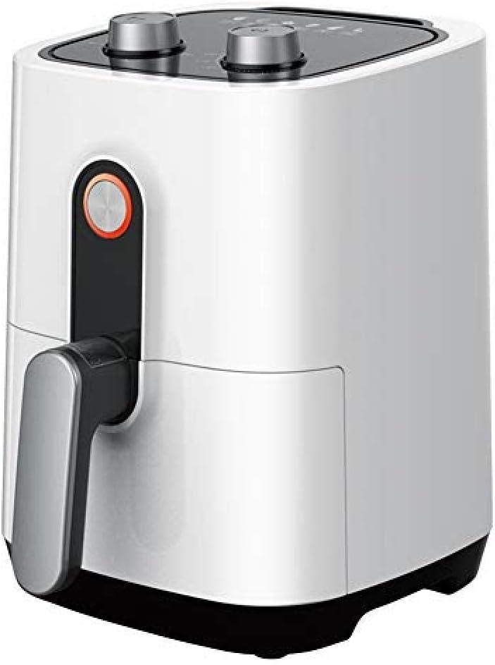 SDOPHH Freidora Manual Aire Freidora Eléctrica Hogar Horno Inteligente Sin Aceite Cocina Baja en Grasa Saludable Antiadherente Fácil de Limpiar Blanco 2 9QT 1400W: Amazon.es: Hogar