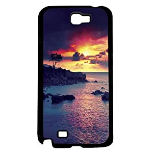 Pink Sunset Hard Snap on Phone Case (Note 2 II)