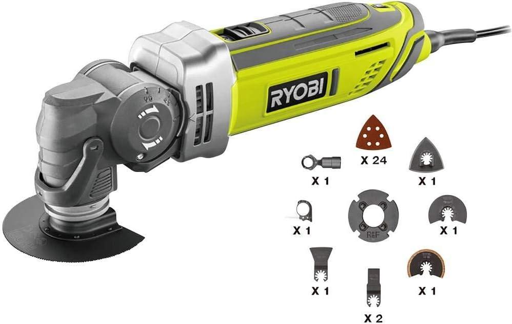 Grau Ryobi 5133002434 RMT300-TA Multifunktionswerkzeuge