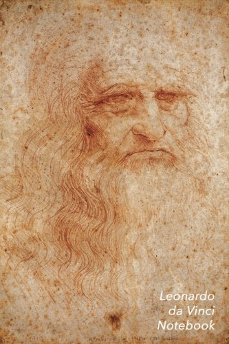 Leonardo Da Vinci Notebook: Portrait of a Man in Red Chalk Journal | 100-Page Beautiful Lined Art Notebook | 6 X 9  Artsy Journal Notebook (Art Masterpieces)