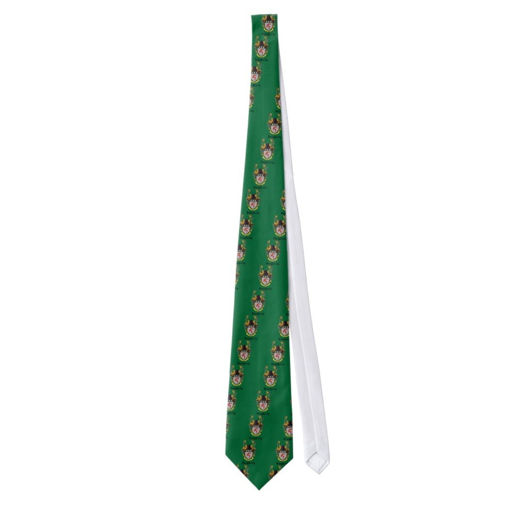 Zazzle Dougherty Coat Of Arms Tie