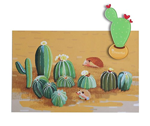 Cactus Magnets Cute Refrigerator Magnet Fridge Magnet Locker Magnet Decorative Magnets Cactus Kitchen Magnets Funny Cute Magnets (Succulent)